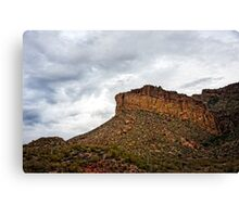 Light After Storm on Apache Trail Canvas Print