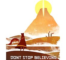 Journey - Don't Stop Believing  by SuperDesignBoy