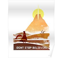 Journey - Don't Stop Believing  Poster