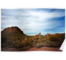 Apache Trail Red Rock Poster