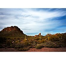 Apache Trail Red Rock Photographic Print