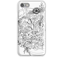 Abstract Zoodle Circles iPhone Case/Skin