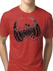 Headphones Tri-blend T-Shirt