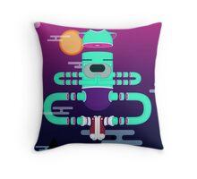 YOGA style Throw Pillow