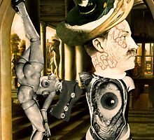 The Eye of Salvador Dali 2 Meets Hans Bellmer's Doll. by Andrew Nawroski