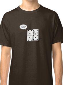 Falling Dominoes Classic T-Shirt