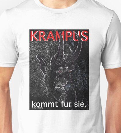 Krampus kommt fur sie. T-Shirt