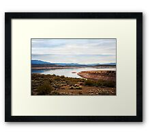 Apache Trail The Oasis Framed Print