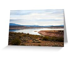 Apache Trail The Oasis Greeting Card