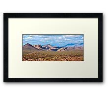 Lost Dutchman and Superstitions Framed Print