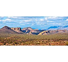 Lost Dutchman and Superstitions Photographic Print
