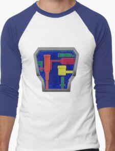 B.A.T.S. Variant 3.0 lower on chest Men's Baseball ¾ T-Shirt