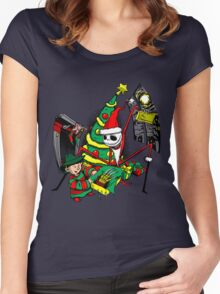The Christmas Before Nightmare Women's Fitted Scoop T-Shirt