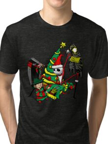 The Christmas Before Nightmare Tri-blend T-Shirt