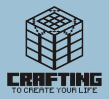 Crafting Table - To create your Life (black) by hardwear