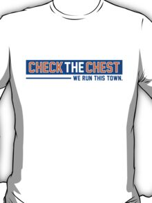 CHECK THE CHEST   New York Knicks T-Shirt