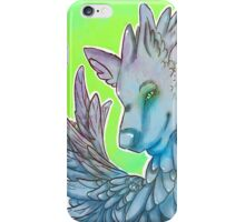blue wolf  iPhone Case/Skin