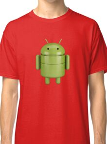 Green android robot Classic T-Shirt