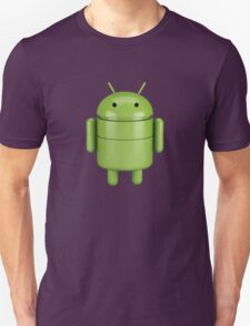 Green android robot T-Shirt