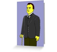 Mr Bates - Downton Abbey Greeting Card
