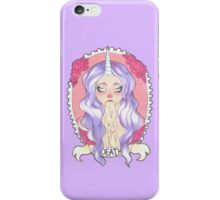 Pastel Death, lilac. iPhone Case/Skin