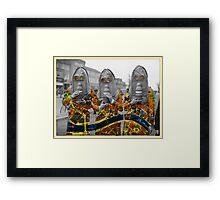gas : women Framed Print