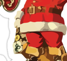Santa - Merry Christmas Sticker