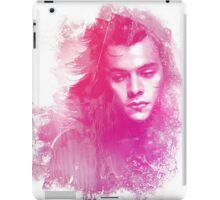 Through the glass. Pink iPad Case/Skin
