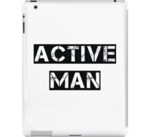 Active Man iPad Case/Skin