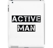 Active Man iPad Case/Skin