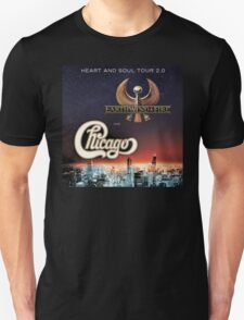 Chicago Earth Wind Fire Tour 2016 RP03 T-Shirt