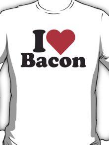 I Heart Love Bacon Tee T-Shirt