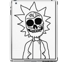 Rick and Morty - Zombie Rick iPad Case/Skin