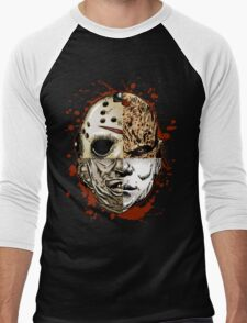 HORROR MASHUP Men's Baseball ¾ T-Shirt
