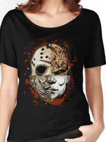 HORROR MASHUP Women's Relaxed Fit T-Shirt