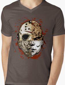 HORROR MASHUP Mens V-Neck T-Shirt