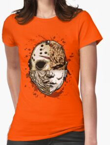 HORROR MASHUP Womens Fitted T-Shirt