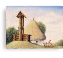 Farm. Well Canvas Print