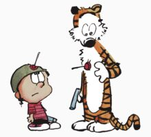 Calvin and Hobbes - It's a tie BIG by EasilyConfused1
