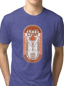 Aziz Light-The Divine Brew-alternate Tri-blend T-Shirt