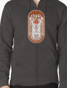 Aziz Light-The Divine Brew-alternate Zipped Hoodie