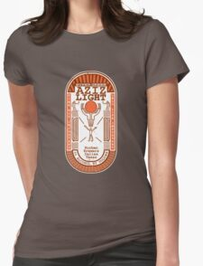 Aziz Light-The Divine Brew-alternate Womens Fitted T-Shirt