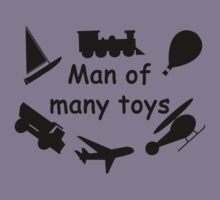 Man of many toys Kids Clothes