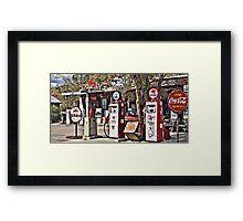 Hackberry on Route 66 Framed Print