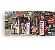 Hackberry on Route 66 Canvas Print