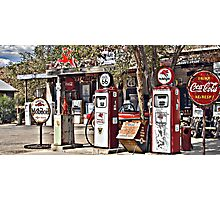 Hackberry on Route 66 Photographic Print