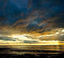 Stormy Sunrise - Kiama by Dilshara Hill