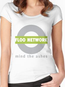Just step into the emerald flames. Women's Fitted Scoop T-Shirt