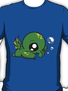 Baby Cthulhu Likes Bubbles T-Shirt