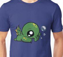 Baby Cthulhu Likes Bubbles Unisex T-Shirt